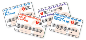 american heart association cpr card replacement